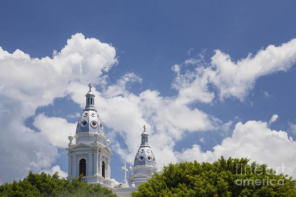 Photograph - Cathedral Nuestra Senora De Guadalupe In Ponce by Bryan Mullennix