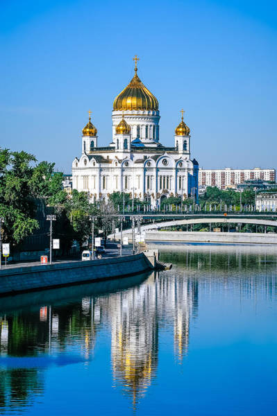 Cathedral Of Christ The Savior Photograph - Cathedral Of Christ The Savior by Oleg Koryagin
