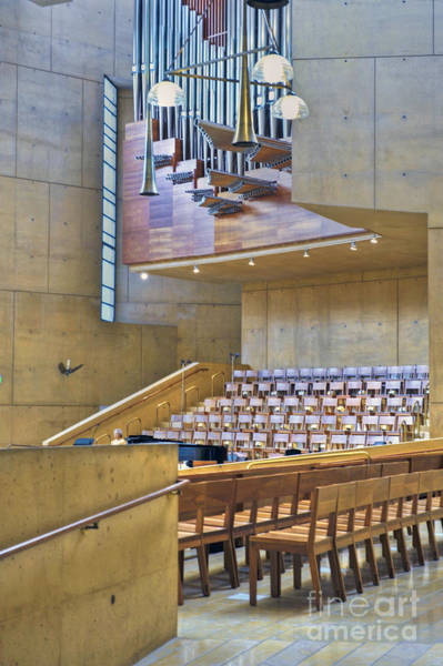 Hs Photograph - Cathedral Of Our Lady Of The Angels Church Los Angeles Ca by David Zanzinger