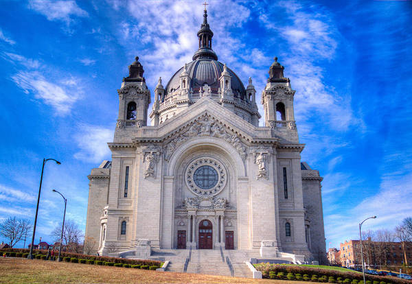 Cathedral Of Saint Paul Art Print