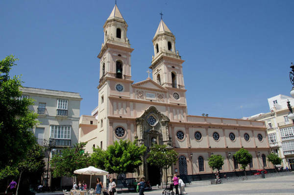 Stoney Photograph - Cathedral Of San Antonio De Padua by Jan and Stoney Edwards