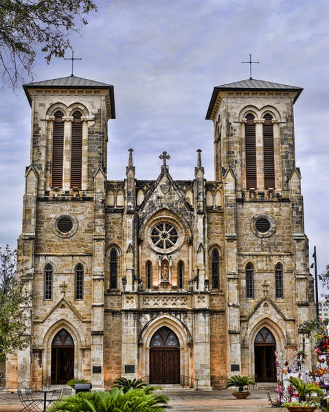 Photograph - Cathedral Of San Fernando by Heather Applegate