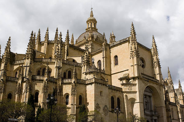 Photograph - Cathedral Of Segovia by Lorraine Devon Wilke