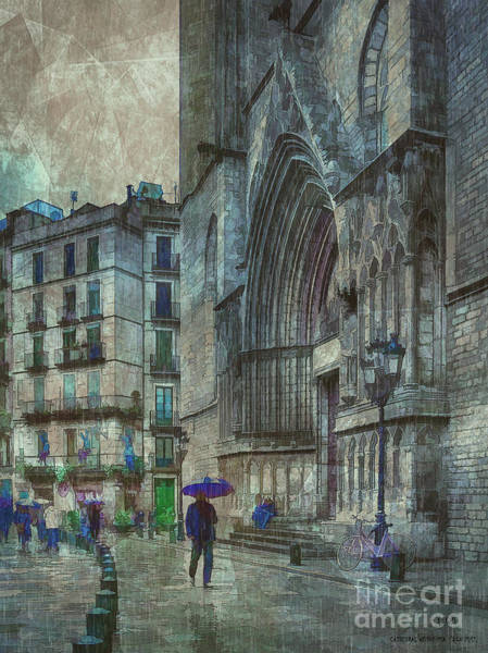 Famous Places Digital Art - Cathedral Of The Sea by Pedro L Gili