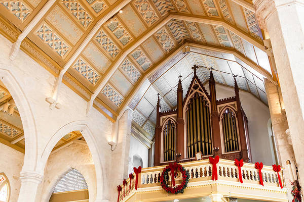 Photograph - Cathedral Organ by Melinda Ledsome