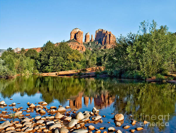 Photograph - Cathedral Rock by Mae Wertz