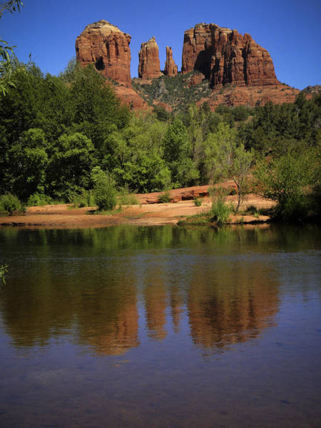 Photograph - Cathedral Rock by Penny Lisowski