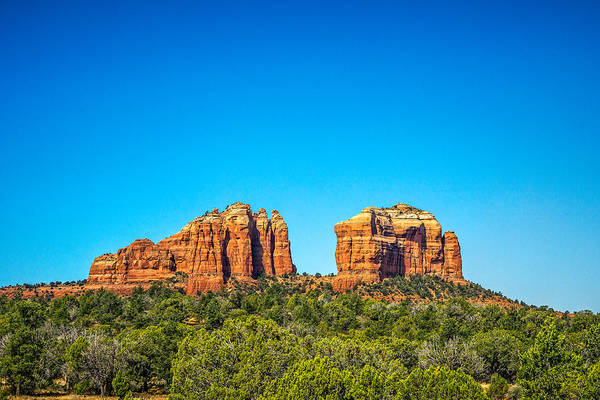 Photograph - Cathedral Rock Sedona Az by Chris Bordeleau