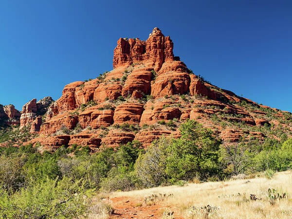Red Rocks Of Sedona Photograph - Cathedral Rock by Wladimir Bulgar