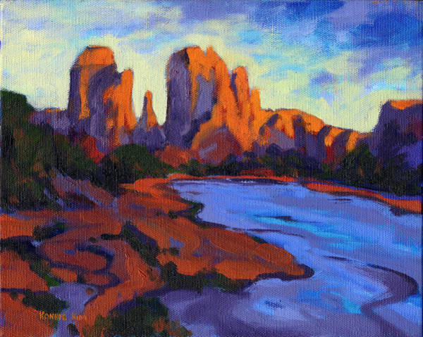 Painting - Cathedral Rock by Konnie Kim