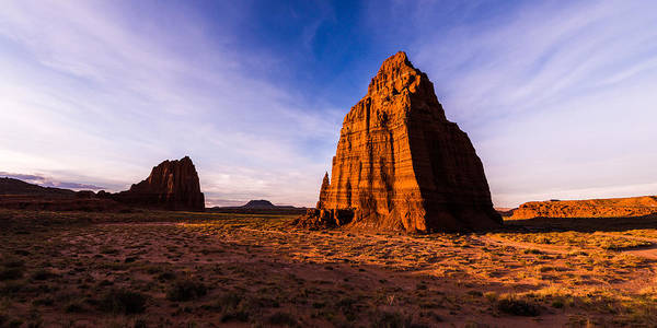 Cathedral Photograph - Cathedral Temples by Chad Dutson