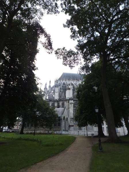 Photograph - Cathedrale D'amiens by Marc Philippe Joly
