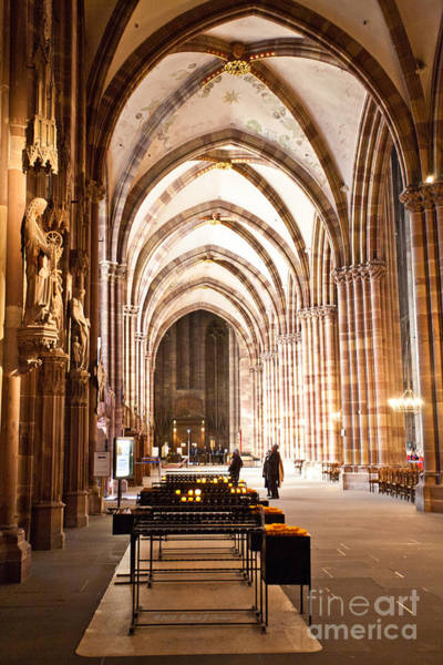 Photograph - Cathedrale Notre Dame De Strasbourg France by Richard J Thompson