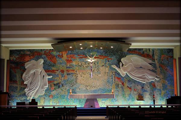 Catholic Chapel At Air Force Academy Art Print