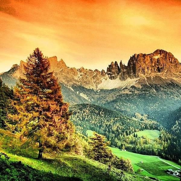Wall Art - Photograph - Catinaccio-dolomiti. Alto Adige - by Luisa Azzolini