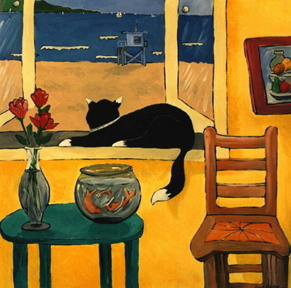 Painting - Cats Eye View by Lance Headlee