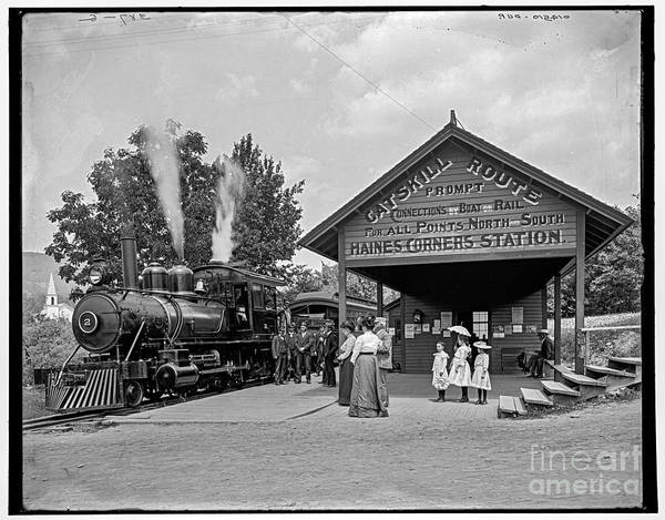 Photograph - Catskill Mountain Railway by Russell Brown