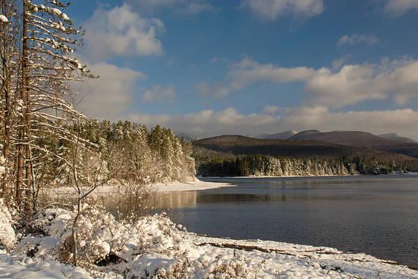 Photograph - Catskills Winter Morning by Nancy De Flon