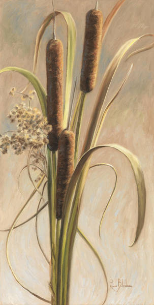 Painting - Cattails In The Breeze by Lucie Bilodeau