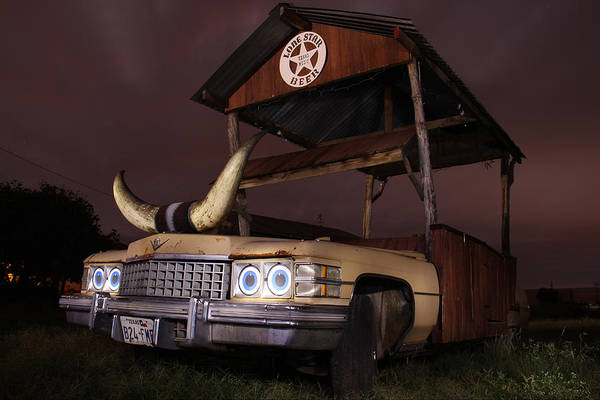 Wall Art - Photograph - Cattelacs Caddy by Andrew Nourse