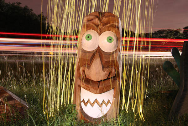 Wall Art - Photograph - Cattelacs Chainsaw Art 4 by Andrew Nourse