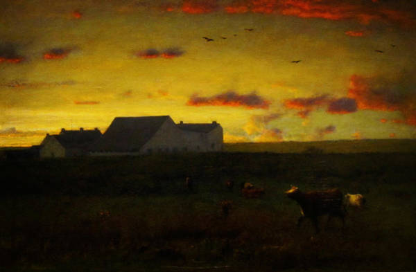 Painting - Cattle In Pasture by Celestial Images