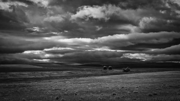 Photograph - Caught In A Storm Moving Off The Rockies by Thomas Young