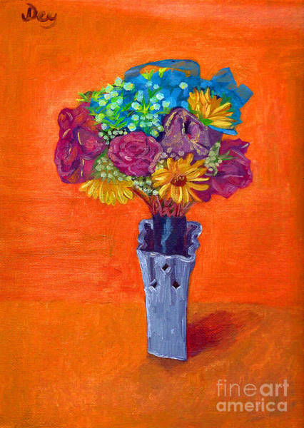 Painting - Bouquet By Janelle Dey by Janelle Dey