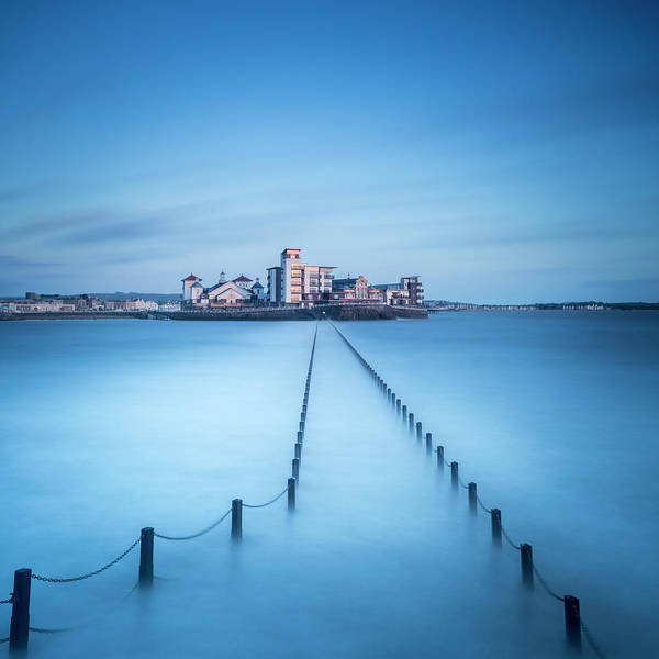 Mare Photograph - Causeway At Marine Lake by Mark Crocker - Images Through A Lens