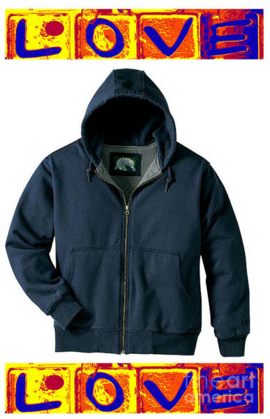 Hoodie Photograph - Caution - May Be Hazardous To Your Son's Health by David Bearden