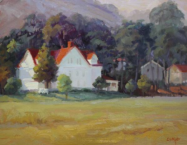 Sausalito Painting - Cavallo Point by Carol Smith Myer
