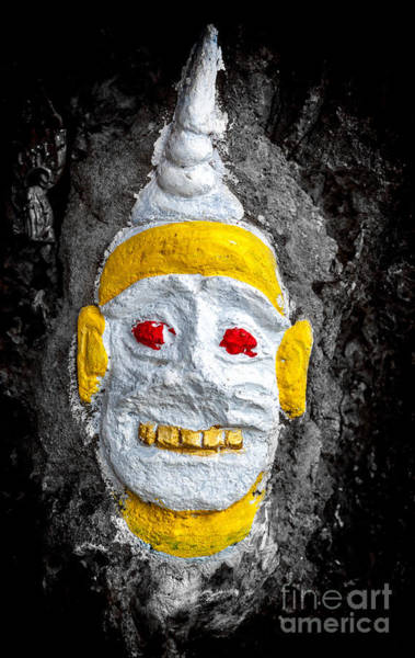 Judaism Digital Art - Cave Face 4 by Adrian Evans