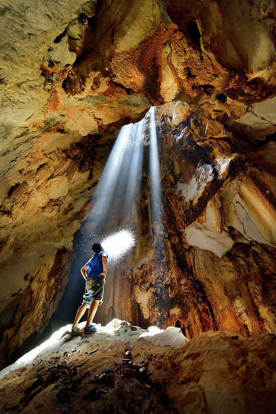 Hip Photograph - Cave In Lopburi Province  Thailand by Nanut Bovorn