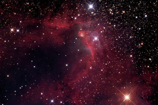Wall Art - Photograph - Cave Nebula (sh2-155) by Robert Gendler/science Photo Library