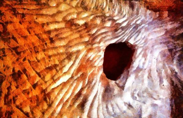 Photograph - Cave Window In Petra by Jenny Setchell