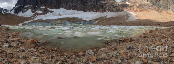 Photograph - Cavell Glacier And Pool by Charles Kozierok