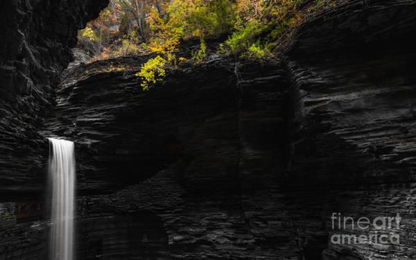 Cavern Photograph - Cavern Cascade Color Splash by Michael Ver Sprill