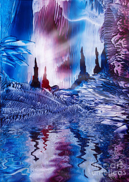 Wax Painting - Cavern Of Castles by Simon Bratt Photography LRPS