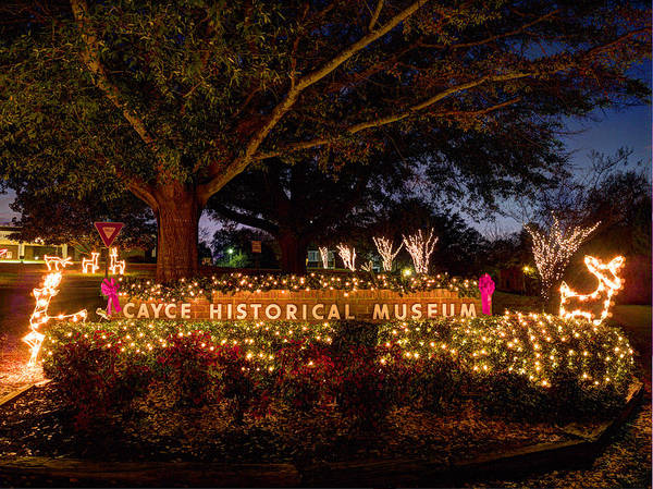 Photograph - Cayce Historical Museum Entrance by Charles Hite