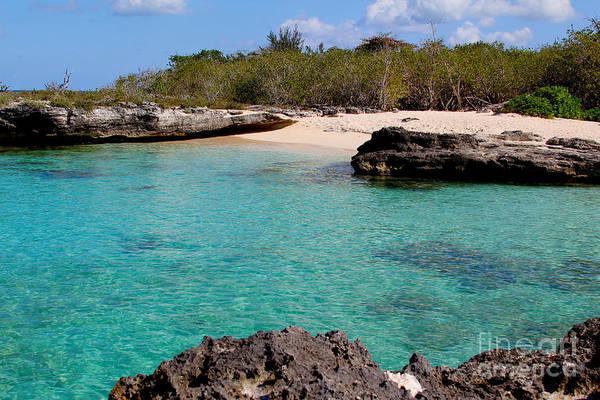 St. Lucia Photograph - Cayman Beach by Carey Chen