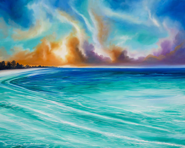 Wall Art - Painting - Cazumel by James Christopher Hill