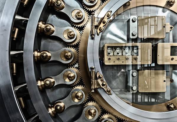 Photograph - Cbot Vault Door by James Howe