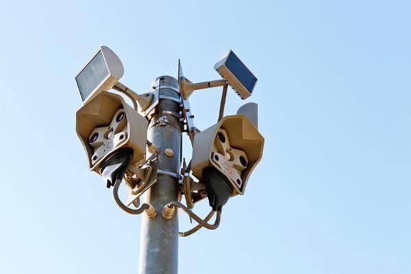 Surveillance Wall Art - Photograph - Cctv Cameras by Wladimir Bulgar/science Photo Library