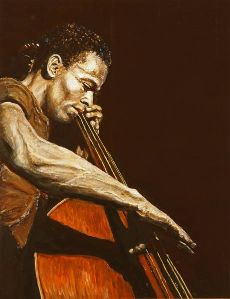 Wall Art - Painting - Cecil Mcbee by Rudy Browne