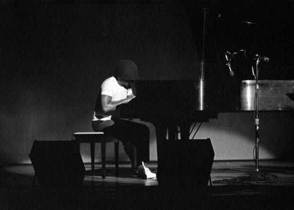 Photograph - Cecil Taylor 1 by Lee Santa