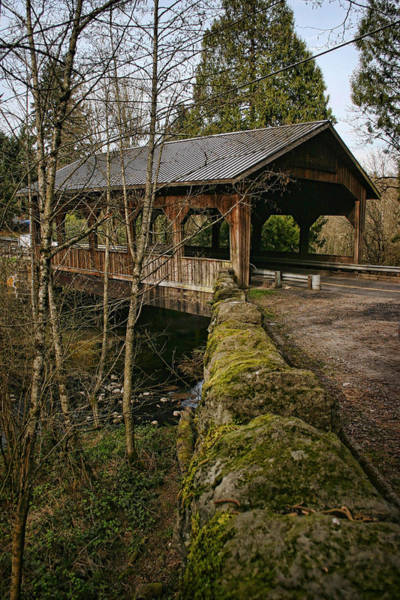 Photograph - Cedar Creek Covered Bridge by Wes and Dotty Weber