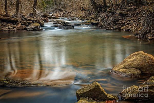 Photograph - Cedar Creek by Larry McMahon