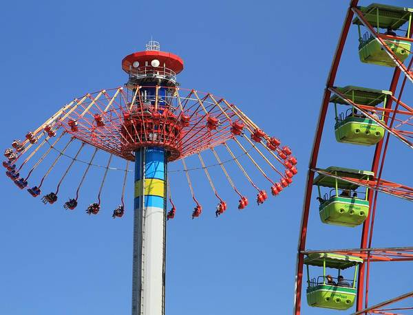 Photograph - Cedar Point Rides by Dan Sproul