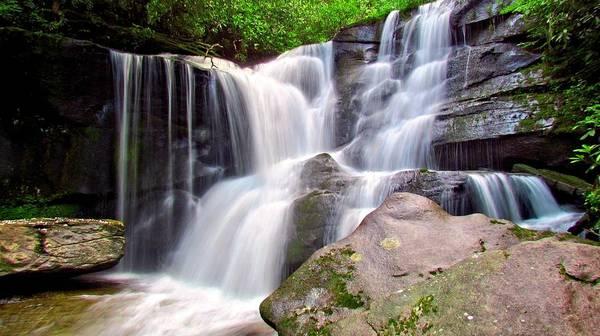 Photograph - Cedar Rock Creek Falls by Carol Montoya