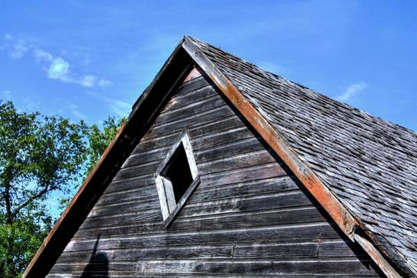 Photograph - Cedar Shingles by David Matthews